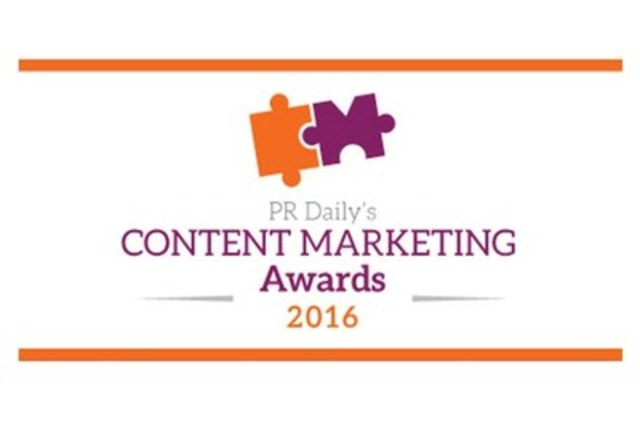 PR Daily's Content Marketing Awards (CNW Group/CNW Group Ltd.)