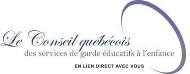 Logo: Conseil québécois des services de garde éducatifs à l'enfance (Groupe CNW/Conseil québécois des services de garde éducatifs à l'enfance (CQSGEE))