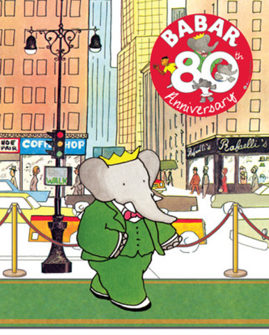 Beloved Children's Icon, Babar The Elephant, Comes to Holt Renfrew Stores to Celebrate the Holidays (CNW Group/Corus Entertainment Inc.)