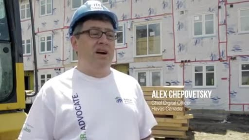 Video: Watch the story of how Havas Canada teamed up with Habitat GTA to transform their web experience.