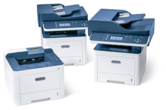 Xerox s'attaque aux pertes de productivité dans les petits bureaux en lançant de nouveaux appareils multifonctions – que tout le monde peut utiliser (Groupe CNW/Xerox Canada)