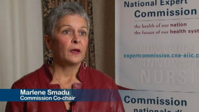 Video: Commission Co-Chair, Marlene Smadu, explains why it is imperative that nurses are involved in health-care transformation.