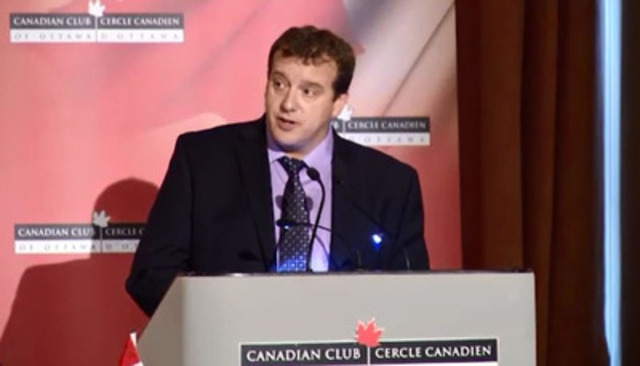 Video: Address given by Dr. Christopher Simpson, President of the Canadian Medical Association at the Canadian Club of Ottawa, Nov. 18, 2014 on seniors care - Part 2