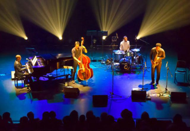 Eddy Pierre et ses musiciens de jazz ont officiellement ouvert le Festival des arts de Montréal-Nord à l'occasion du 10e anniversaire de la Maison culturelle et communautaire. (Groupe CNW/Arrondissement de Montréal-Nord (Ville de Montréal))