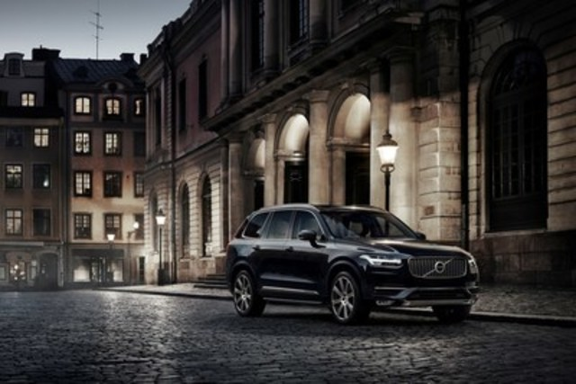 The award-winning XC90 (CNW Group/Volvo Car Canada Ltd.)