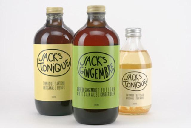 La gamme de produits de Jack's Soda (Groupe CNW/Jack's Soda)