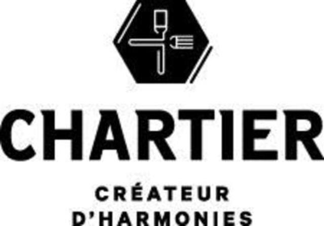 """Logo : Chartier """"Créateur d'harmonies"""" (Groupe CNW/Nata Pr)"""