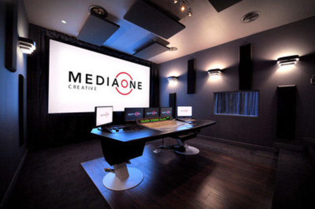 The Mix Theatre at Media One Creative's Studio (CNW Group/Media One Creative Inc.)