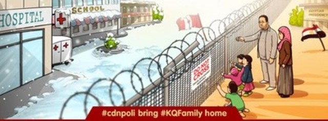 #cdnpoli bring #KQFamily home (CNW Group/Free Khaled Campaign)