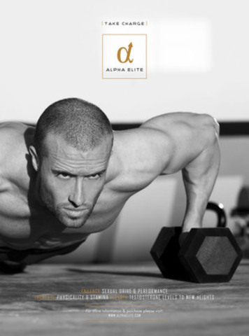 Take Charge and Become One of the Alpha Elite with the Launch of Hantian Labs' Stimulant Free Testosterone and Performance Booster (CNW Group/Hantian Labs Ltd.)
