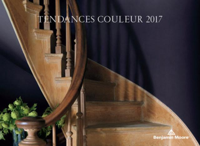 Benjamin Moore dévoile sa très attendue Couleur de l'année 2017 : Clématis, 2117-30, une nuance améthyste, riche et somptueuse. (Groupe CNW/Benjamin Moore)