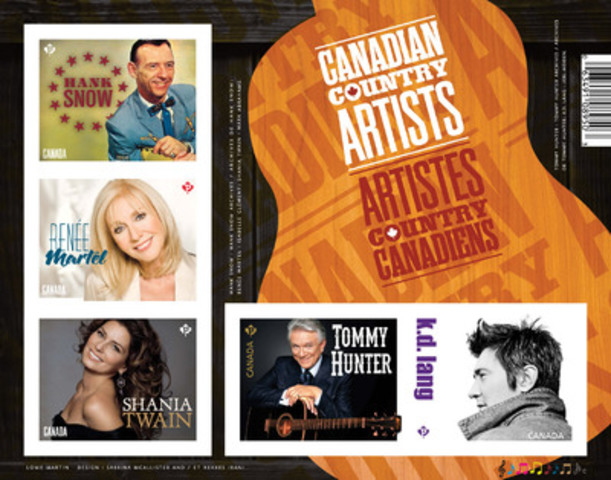 Canadian Country Music Artists (CNW Group/Canada Post)