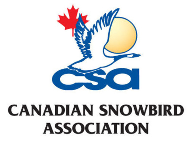 Canadian Snowbird Association (CNW Group/Canadian Snowbird Association)