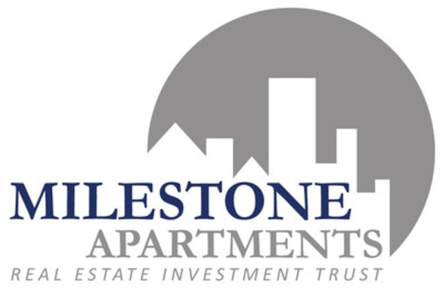 Milestone Apartments Real Estate Investment Trust (CNW Group/Milestone Apartments REIT) (CNW Group/Milestone Apartments REIT)