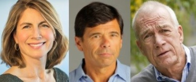 The Canadian Journalism Foundation will honour Boston Globe Spotlight Team reporters Sacha Pfeiffer, Michael Rezendes and Walter V. Robinson with a Special Citation for exemplary journalism at the CJF Awards in Toronto. (CNW Group/Canadian Journalism Foundation)