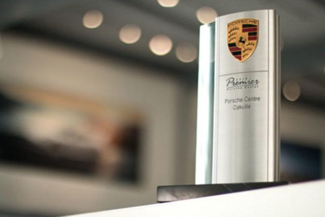 Porsche Centre Oakville has been named a Porsche Premier Dealer for the second consecutive year. (CNW Group/Policaro Automotive Family)