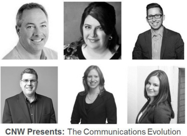 Industry leaders from within media, IR, communications, marketing and PR will speak at CNW Presents: The Communications Evolution taking place in Calgary and Vancouver this April. (CNW Group/CNW Group Ltd.)