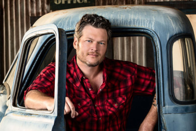Blake Shelton will headline the Boots and Hearts Music Festival August 4th - 7th at Burl's Creek Event Grounds, Oro-Medonte, ON.  Canada's largest camping and country music festival celebrates its fifth anniversary this summer.  Tickets on sale now at www.bootsandhearts.com (CNW Group/Boots and Hearts Music Festival)