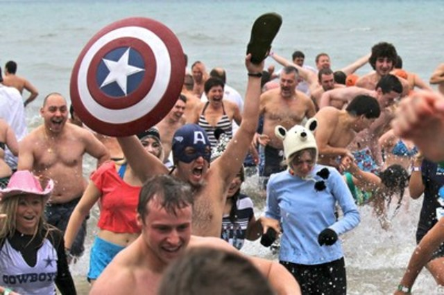 The Courage Polar Bear dip is Canada's largest charity polar bear dip. Now in its 31st year, the total ...