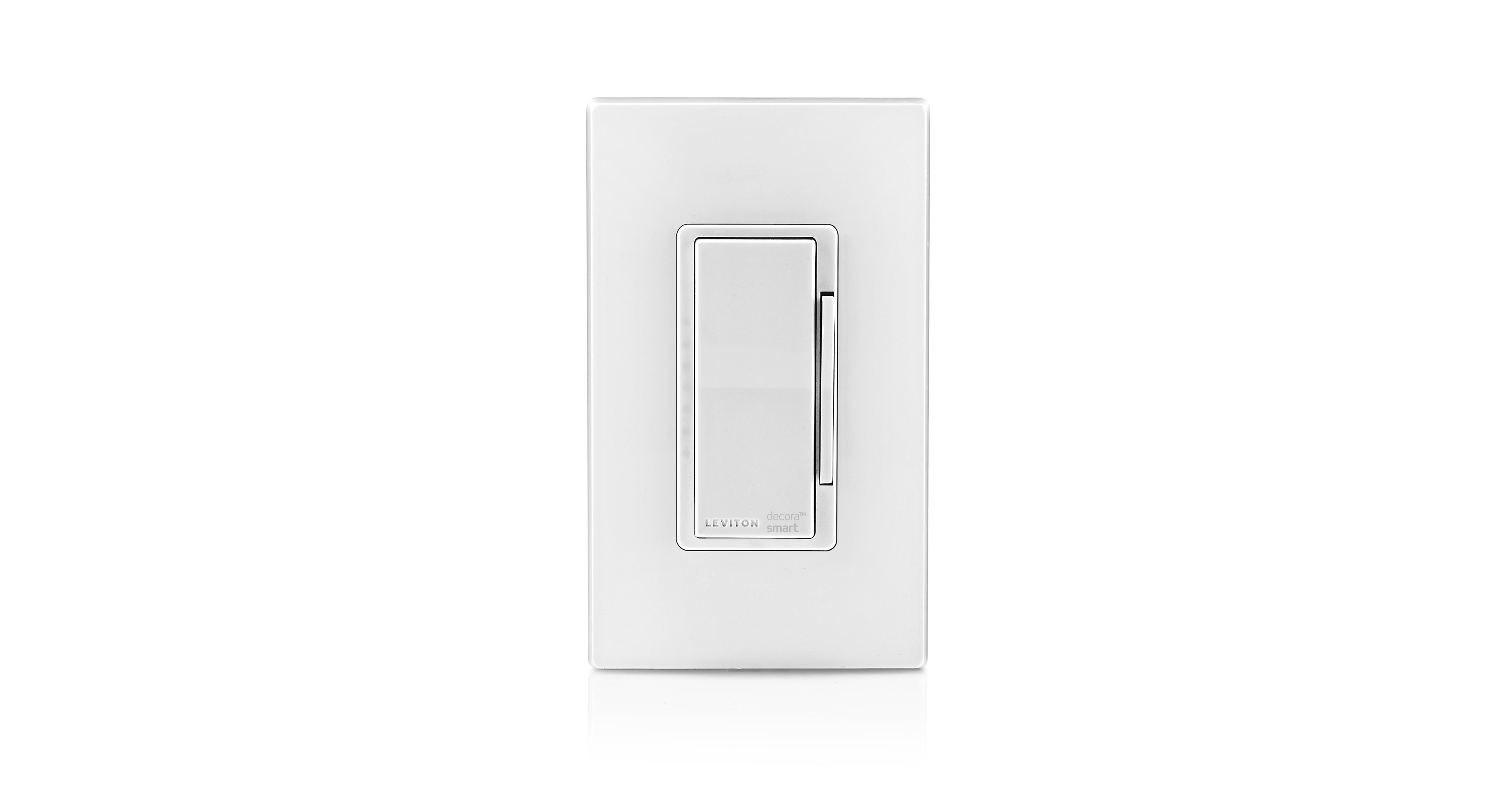 Leviton ODS10-ID Decora Wall Switch Occupancy Sensor 8-Pack 120//277V rating White with Screwless Wallplates