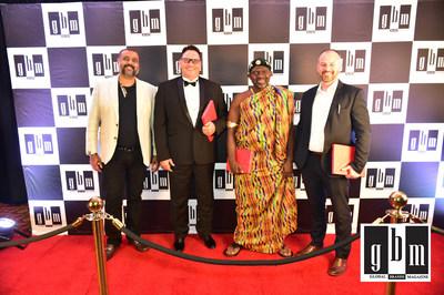 مجلة جلوبال براندز تكرم أفضل العلامات التجارية في الأمسية الاحتفالية في إمبرورز بالاس، جوهانسبرغ، جنوب أفريقيا