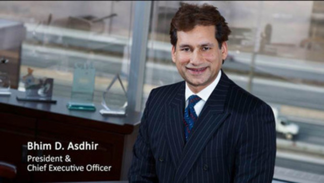 Video: Bhim D. Asdhir, President & Chief Executive Officer - Excel Funds Management Inc - Recognized as top Canada SME Employer