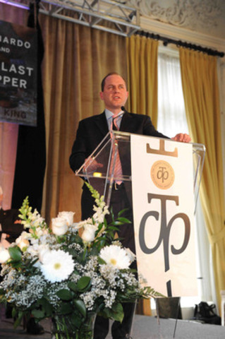 Charles Taylor for Literary Non Fiction Winner Andrew Preston. Photo: Tom Sandler (CNW Group/Charles Taylor Prize)
