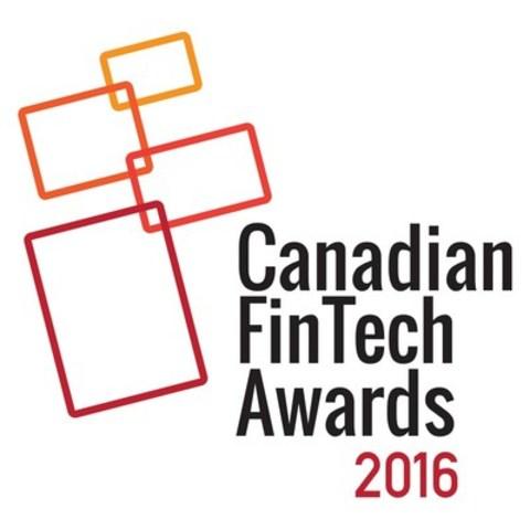 Canadian FinTech Awards 2016 (CNW Group/Digital Finance Institute)