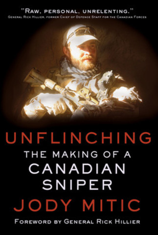 Unflinching by Jody Mitic coming in fall 2015. Front cover image (c) Stephen Drinkwater. (CNW Group/Simon and Schuster Canada)
