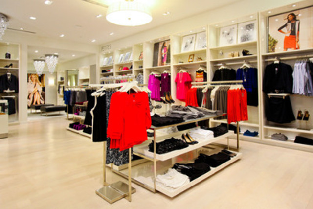 Ann Taylor Interior (CNW Group/Ann Taylor)