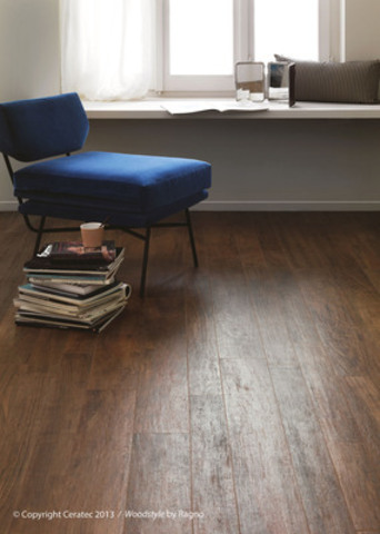 Ceratec's new Woodstyle looks like wood, wears like tile. (CNW Group/Ceratec)