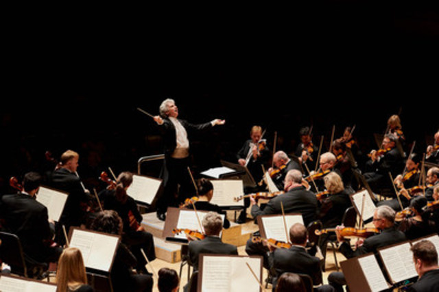 TSO Music Director Peter Oundjian conducts La Mer. Credit: Malcolm Cook (CNW Group/Toronto Symphony Orchestra (TSO))
