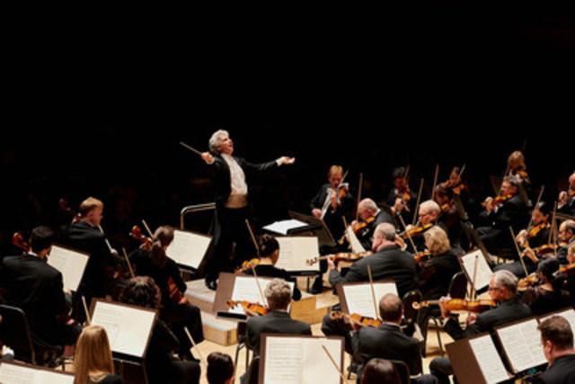 TSO Music Director Peter Oundjian conducts La Mer. Credit: Malcolm Cook (CNW Group/Toronto Symphony Orchestra (TSO))