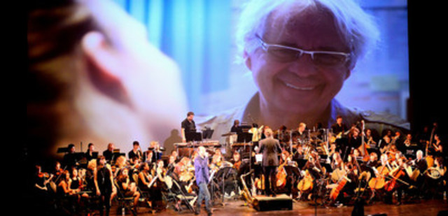 Concert-bénéfice du Garage à musique de la Fondation du Dr Julien (édition 2015 avec Michel Rivard). Crédit photo : Sébastien-Charles Boitel. (Groupe CNW/Fondation du Dr Julien)