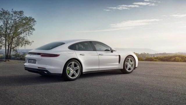 2018 Porsche Panamera 4 E-Hybrid. (CNW Group/Porsche Cars Canada)