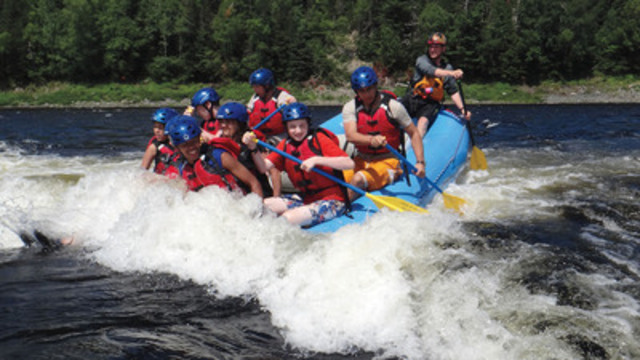 Scouts Canada's summer camp programs and first-time adventures are co-ed and open to the public. (CNW Group/Scouts Canada)