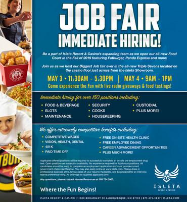 Job Fair Isleta Casino