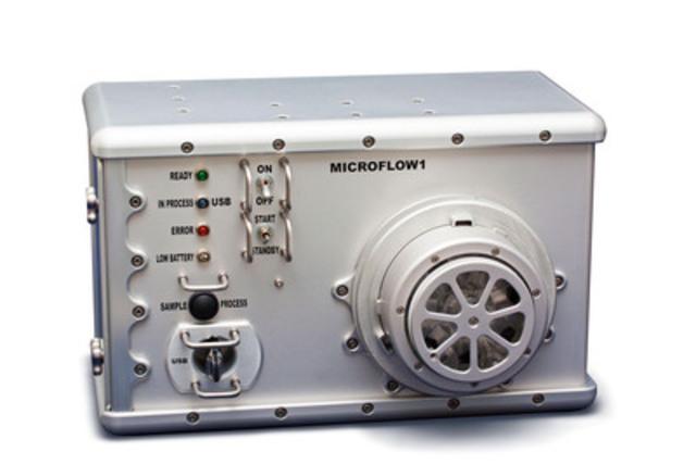 INO's MicroFlow (CNW Group/INO (NATIONAL OPTICS INSTITUTE))