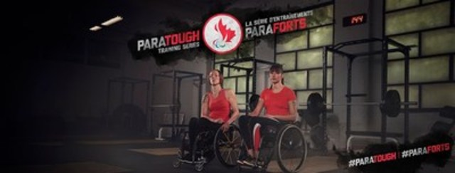 Becky Richter and Pam LeJean of para-athletics are featured in the ParaTough Training Series, the first workout series led entirely by Canadian Paralympians. Photo Credit: CPC/Tyler Gray/John Stevancec/Westside Studio (CNW Group/Canadian Paralympic Committee (CPC))