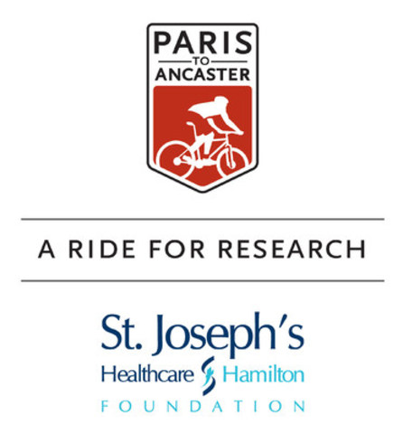 Paris to Ancaster: A Ride for Research in Support of St. Joseph's Healthcare Foundation. (CNW Group/St. Joseph's Healthcare Foundation)