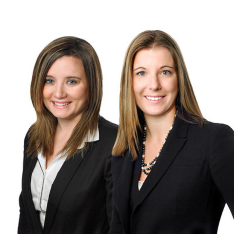 Left to right: Christin Giebelhaus and Jennifer Hollis, Partners, Collins Barrow Calgary LLP (CNW Group/Collins Barrow National Cooperative Incorporated)