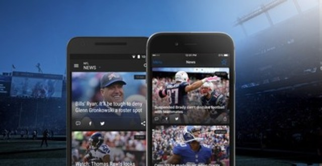 theScore app delivers full football coverage this season. (CNW Group/theScore, Inc.)