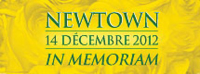 Badge In Memoriam - Sandy Hook (Groupe CNW/COMMISSION SCOLAIRE DU VAL-DES-CERFS)