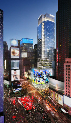 Witkoff Preliminary Rendering (CNW Group/Cirque du Soleil Canada inc.)