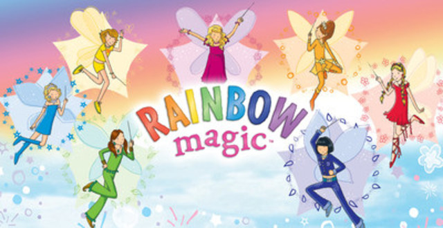 DHX Media and Mattel Creations are teaming up to create new content and toys on beloved Mattel children's publishing property, Rainbow Magic (CNW Group/DHX Media Ltd.)