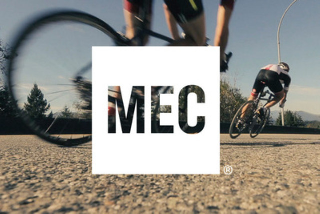 Vibrant imagery and compelling language complement MEC's new logo as cornerstones of a new brand platform. (CNW Group/Mountain Equipment Co-op)