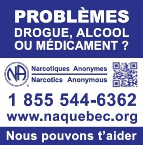 Logo : Narcotiques Anonymes Québec (Groupe CNW/Narcotiques Anonymes Québec)