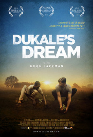 Dukale's Dream with Hugh Jackman. A Canadian movie premiere event (CNW Group/World Vision Canada)