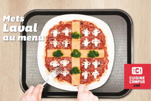 Cuisine campus - Mets Laval au menu. (Groupe CNW/CADEUL)