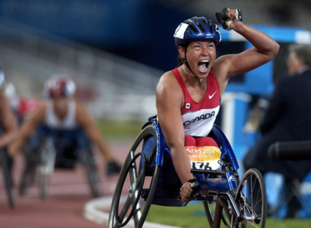 The Canadian Paralympic Committee is pleased to announce that five-time Paralympian Chantal Petitclerc (Montreal, Que.) has been named Team Canada's Chef de Mission for the Rio 2016 Paralympic Games, marking exactly two years to go until competition begins in Rio. (CNW Group/Canadian Paralympic Committee (CPC))